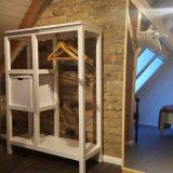 Schlafzimmer 2 mit einem Bett à 1,40 m