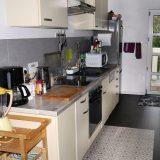 weiße Küche