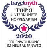 Auszeichnung Top 3 Unterkunft