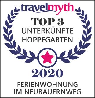 Auszeichnung von Travelmyth